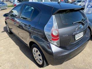 2012 Toyota Prius c NHP10R i-Tech E-CVT Grey 1 Speed Constant Variable Hatchback Hybrid.