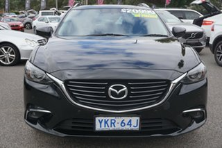 2015 Mazda 6 GJ1032 Touring SKYACTIV-Drive Black 6 Speed Sports Automatic Wagon.