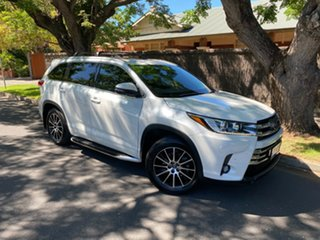 2017 Toyota Kluger GSU50R Grande 2WD White 8 Speed Sports Automatic Wagon.