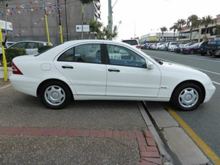 2003 Mercedes-Benz C180 W203 Kompressor Classic White 5 Speed Auto Tipshift Sedan