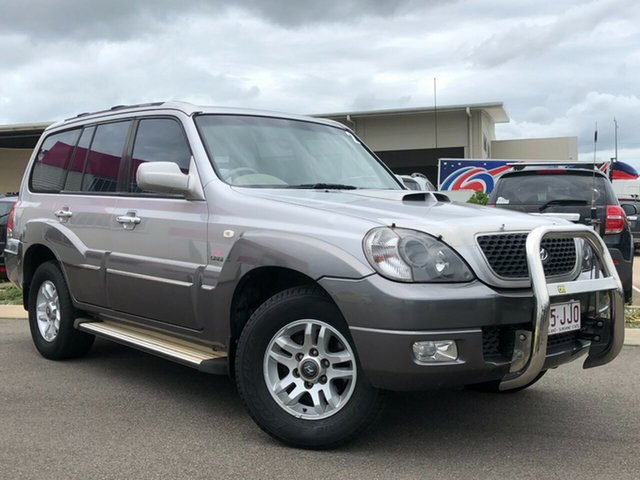 Used Hyundai Terracan HP MY06 Highlander Garbutt, 2006 Hyundai Terracan HP MY06 Highlander Silver 4 Speed Automatic Wagon