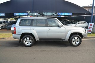 2004 Nissan Patrol GU IV ST (4x4) Silver 5 Speed Manual Wagon.