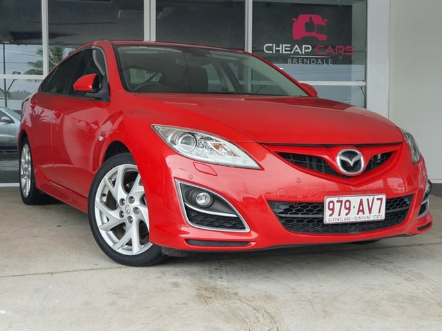 Used Mazda 6 GH1052 MY12 Luxury Sports Brendale, 2012 Mazda 6 GH1052 MY12 Luxury Sports Red 5 Speed Sports Automatic Hatchback