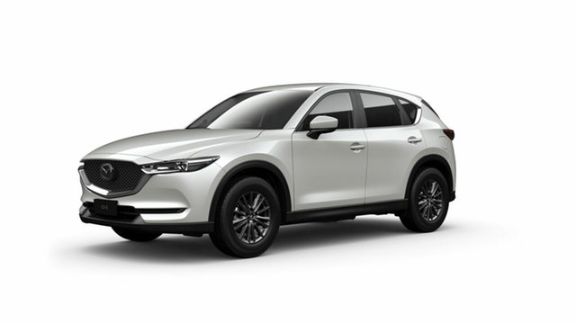 New Mazda CX-5 KF2W7A Maxx SKYACTIV-Drive FWD Sport Toowoomba, 2021 Mazda CX-5 KF2W7A Maxx SKYACTIV-Drive FWD Sport Snowflake White Pearl 6 Speed Sports Automatic