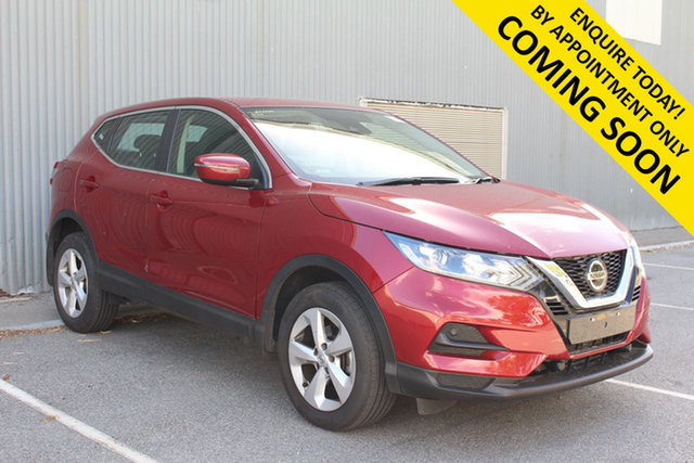 Used Nissan Qashqai J11 MY18 ST Bentley, 2019 Nissan Qashqai J11 MY18 ST Red Continuous Variable Wagon
