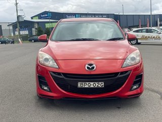 2010 Mazda 3 MZR-CD Red Manual Hatchback