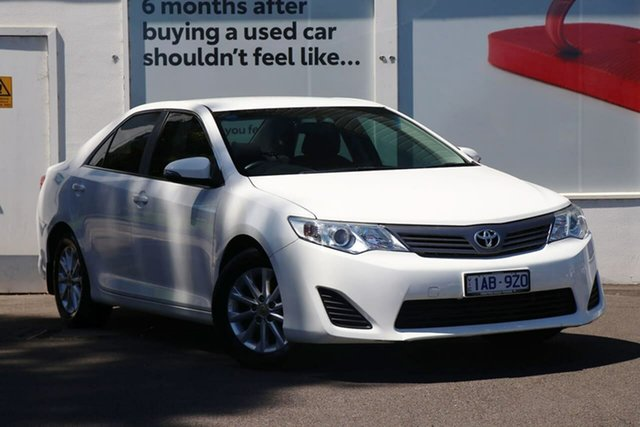 Pre-Owned Toyota Camry ASV50R Altise Ferntree Gully, 2013 Toyota Camry ASV50R Altise Diamond White 6 Speed Sports Automatic Sedan