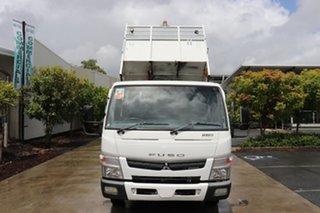 2011 Mitsubishi Fuso Canter White Automatic Tipper.