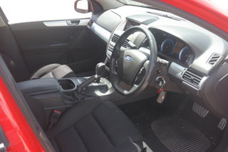 2010 Ford Falcon FG XR6 Red 6 Speed Sports Automatic Sedan