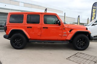 2018 Jeep Wrangler JL MY18 Unlimited Overland Punkn Metallic 8 Speed Automatic Hardtop.