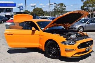 2018 Ford Mustang FN 2018MY GT Fastback Orange 6 Speed Manual Fastback