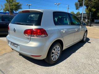 2009 Volkswagen Golf VI 90TSI DSG Trendline Silver 7 Speed Sports Automatic Dual Clutch Hatchback