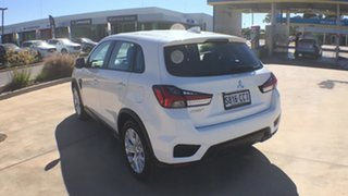 2019 Mitsubishi ASX XD MY20 ES 2WD White 1 Speed Constant Variable Wagon