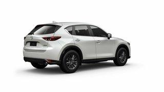 2021 Mazda CX-5 KF2W7A Maxx SKYACTIV-Drive FWD Sport Snowflake White Pearl 6 Speed Sports Automatic.