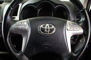 2014 Toyota Hilux KUN26R MY14 SR5 Black (4x4) Tidal Blue 5 Speed Automatic Dual Cab Pick-up