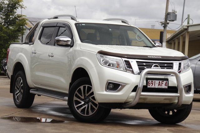 Used Nissan Navara D23 S2 ST-X Bundamba, 2017 Nissan Navara D23 S2 ST-X White Diamond 7 Speed Sports Automatic Utility