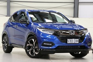 2020 Honda HR-V MY21 RS Brilliant Sporty Blue 1 Speed Constant Variable Hatchback.