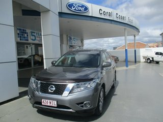 2016 Nissan Pathfinder R52 MY15 ST (4x4) Grey Continuous Variable Wagon.