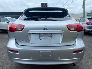 2016 Mitsubishi Lancer CF MY17 GSR Sportback Silver 5 Speed Manual Hatchback