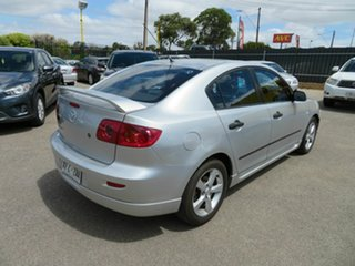 2005 Mazda 3 BK Neo Silver 5 Speed Manual Sedan