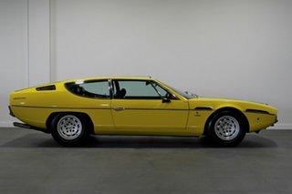 1976 Lamborghini Espada Series III 4 Seat Yellow 3 Speed Automatic Coupe