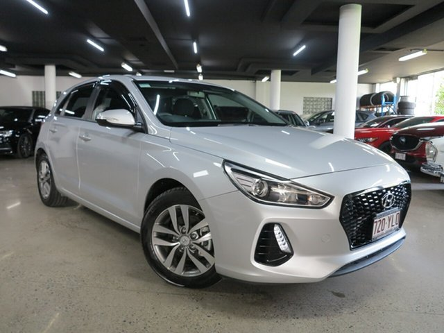 Used Hyundai i30 PD MY18 Active Albion, 2018 Hyundai i30 PD MY18 Active Silver 6 Speed Sports Automatic Hatchback