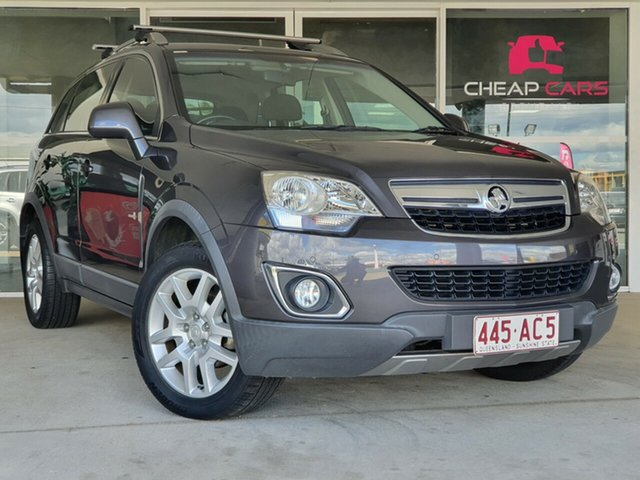 Used Holden Captiva CG Series II 5 AWD Brendale, 2012 Holden Captiva CG Series II 5 AWD Grey 6 Speed Sports Automatic Wagon
