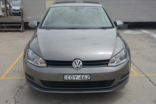 2013 Volkswagen Golf VII 90TSI DSG Comfortline Grey 7 Speed Sports Automatic Dual Clutch Hatchback.