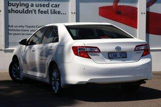 2013 Toyota Camry ASV50R Altise Diamond White 6 Speed Sports Automatic Sedan.