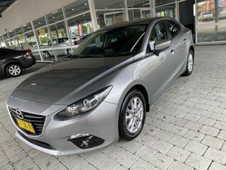 2015 Mazda 3 Maxx Silver Sports Automatic Sedan.