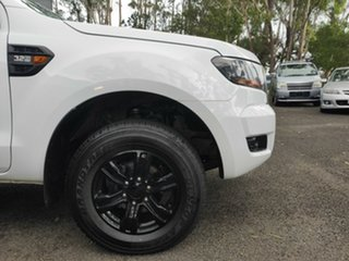 2017 Ford Ranger PX MkII 2018.00MY XLS Double Cab White 6 Speed Sports Automatic Utility