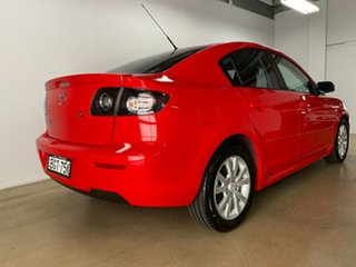 2008 Mazda 3 BK MY08 Maxx Sport Red 5 Speed Manual Sedan.