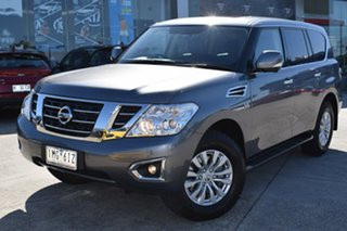 2018 Nissan Patrol Y62 Series 4 TI Grey 7 Speed Sports Automatic Wagon.