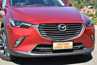 2017 Mazda CX-3 DK4W7A Akari SKYACTIV-Drive i-ACTIV AWD Red 6 Speed Sports Automatic Wagon
