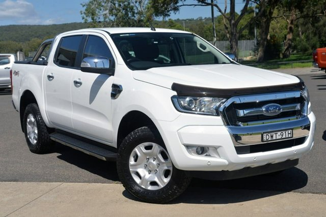 Used Ford Ranger PX MkII 2018.00MY XLT Super Cab West Gosford, 2018 Ford Ranger PX MkII 2018.00MY XLT Super Cab White 6 Speed Sports Automatic Utility