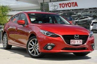 2014 Mazda 3 BM5428 XD SKYACTIV-Drive Astina Red 6 Speed Sports Automatic Hatchback.