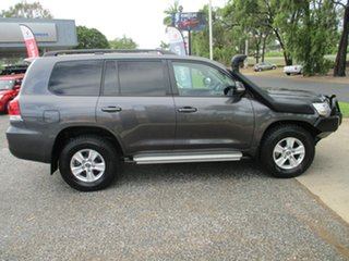2018 Toyota Landcruiser VDJ200R GXL Graphite Grey 6 Speed Sports Automatic Wagon.