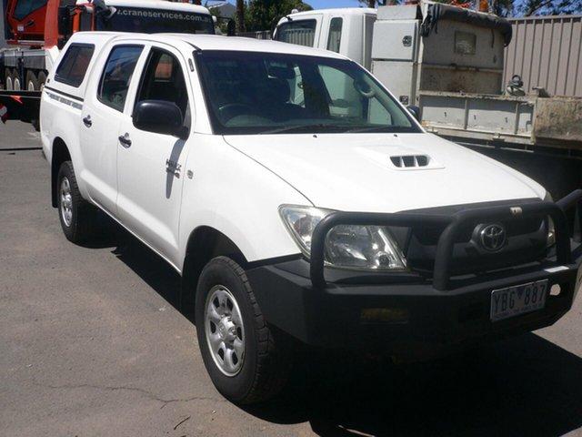 Used Toyota Hilux KUN26R MY10 SR St Marys, 2010 Toyota Hilux KUN26R MY10 SR White 4 Speed Automatic Utility