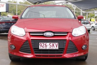 2012 Ford Focus LW MkII Trend PwrShift Red 6 Speed Sports Automatic Dual Clutch Sedan