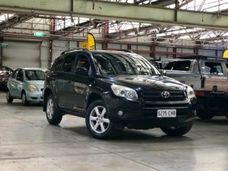 2007 Toyota RAV4 ACA33R Cruiser Black 4 Speed Automatic Wagon.