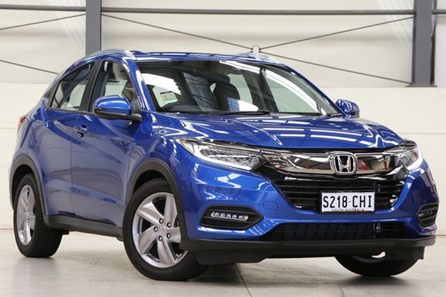 Demo Honda HR-V MY21 VTi-S Glen Osmond, 2020 Honda HR-V MY21 VTi-S Brilliant Sporty Blue 1 Speed Constant Variable Hatchback
