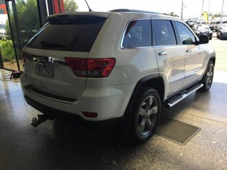 2012 Jeep Grand Cherokee WK Limited (4x4) White 5 Speed Automatic Wagon