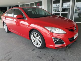 2012 Mazda 6 GH1052 MY12 Luxury Sports Red 5 Speed Sports Automatic Hatchback