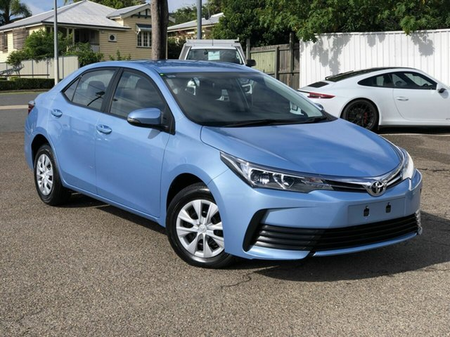 Used Toyota Corolla ZRE172R Ascent S-CVT Chermside, 2019 Toyota Corolla ZRE172R Ascent S-CVT Blue 7 Speed Constant Variable Sedan