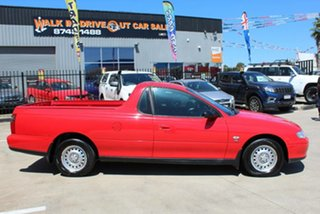 2001 Holden Commodore VU Red 4 Speed Automatic Utility