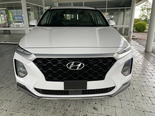 2018 Hyundai Santa Fe Active White Sports Automatic Wagon.