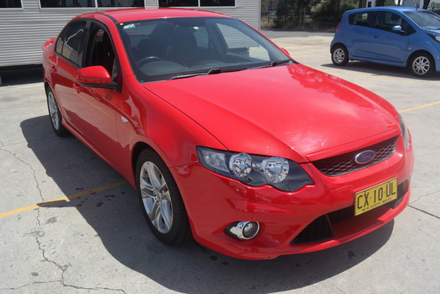 Used Ford Falcon FG XR6 Maryville, 2010 Ford Falcon FG XR6 Red 6 Speed Sports Automatic Sedan
