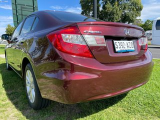 2012 Honda Civic 9th Gen Ser II VTi-LN Red 5 Speed Sports Automatic Sedan.