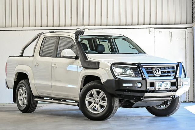Used Volkswagen Amarok 2H MY15 TDI420 4Motion Perm Highline Laverton North, 2015 Volkswagen Amarok 2H MY15 TDI420 4Motion Perm Highline White 8 Speed Automatic Utility