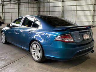 2009 Ford Falcon FG XR6 Green 5 Speed Sports Automatic Sedan